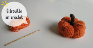 Citrouille au crochet @ L'atelier de No Working