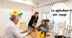 Les applications pour voyager @ L'atelier de No Working