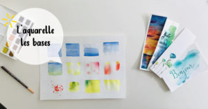 Aquarelle les bases @ L'atelier de No Working