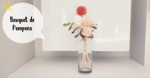 Bouquet de pompons @ L'atelier de No Working