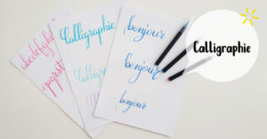 Calligraphie @ L'atelier de No Working