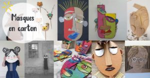 Les Minis No Workers : Masques en carton @ L'atelier de No Working