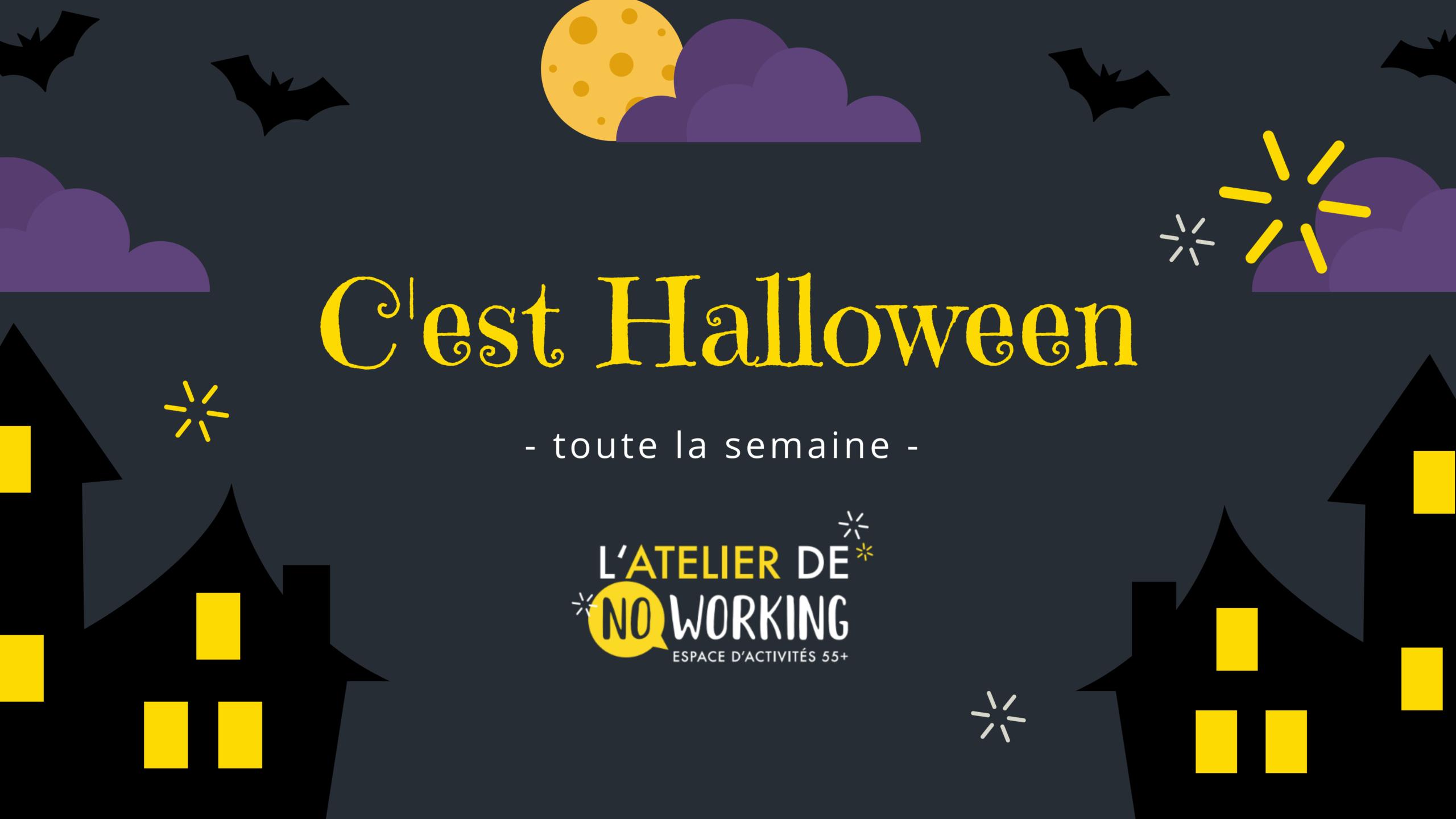 C'est Halloween toute la semaine !
